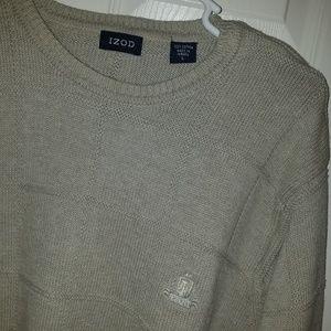 IZOD Large Gray Sweater